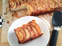 Buen finde – Bizcocho de vainilla y manzana
