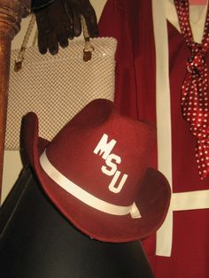 Got a little #HailState at The Attic!