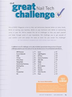 The Great Nail Tech Challenge