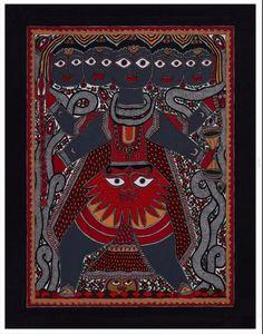 Madhubani Art, Madhubani Painting, Original Paintings, Original Art, Kalamkari Painting, Museum Collection, Lord Shiva, Medium Art, Buy Art