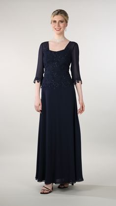 Lorellana Couture Inc. Enjoy your formal event in this elegant sequins lace gown with a georgette A-line skirt gown. Mother Of The Bride Gown, Bride Gowns, A Line Skirts, Evening Dresses, Sequins, Glamour, Couture, Elegant