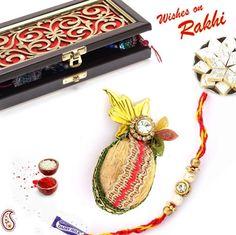 Limited Edition Premium Rakhi Gift Box combo ORWHPR14113