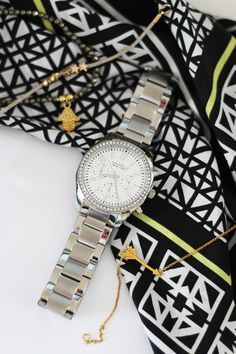 Women Silver Watch by Caravelle NY | The Elgin Avenue