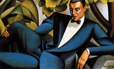 (1925) Portrait du Marquis D'afflitto (Tamara de Lempicka)