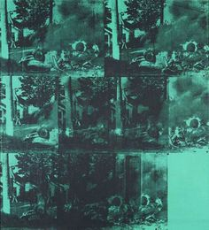 Andy Warhol – Green Car Crash, 1963. (Sold for $71.7 million in 2007)