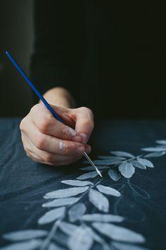 DIY: Painting on Fabric