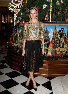 Poppy Delevingne in Dolce& Gabbana