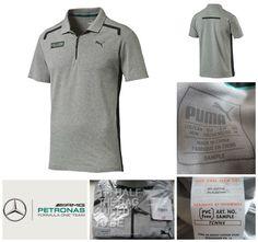 AMG Motorsport Embroided Regatta Classic Pique Polo T-Shirt Mercedes-Benz 6hf3c