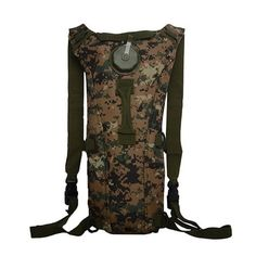 3L Tactical Hydration Pack Lightweight Bladder Water Pouch Backpack for Hiking Hunting Biking Running Walking and Climbing *** You can get additional details at the image link.Note:It is affiliate link to Amazon.