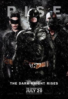 Póster de de The Dark Knight Rises