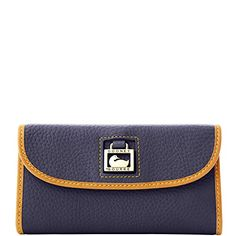 Dooney  Bourke Dillen2 Trim Continental Clutch Navy *** Want to know more, click on the image.