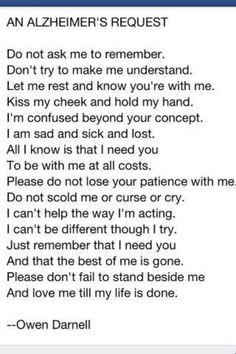 Alzheimer (love this)!!