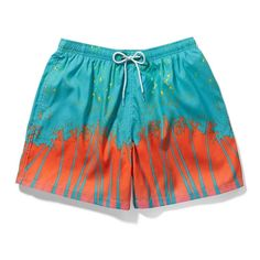 Venice Beach meets Santa Barbara in our Cali Print Mid Length Swim Shorts. Ibiza Party, Meet Santa, Party Scene, Venice Beach, Spring Summer 2016, Ss16, Santa Barbara, Swim Shorts, Mid Length