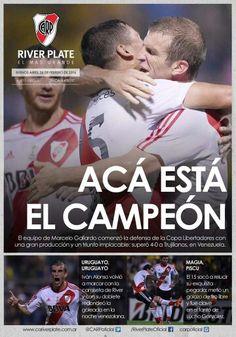 Debut en la Copa Librertadores River Plate 4 - Trujillanos 0 #VamosRiver #LaCopaesmiObsecion