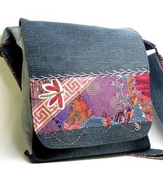 Crazy Quilted Hand Embroidered Dragonfly by FriskyFurnishings, $135.00