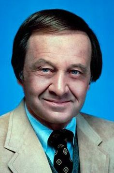 """Jim McKay (1921 - 2008) Sports Journalist and Announcer. Fondly remembered for hosting ABC's """"Wide World of Sports"""" and 12 Olympic Games. He won 13 Emmy's during his career. He was also the first American network sports commentator to visit mainland China."""