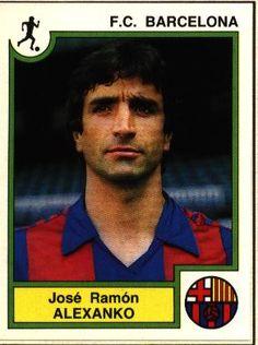 José Ramón Alexanco (defensa) llega al FCB en la temporada 1980-81, procedente del Athletic Club. Permanecerá en el club y será el capitán del equipo hasta el año 1993, fecha de su retirada como futbolista.