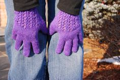 Socrates Gloves Knitting Pattern