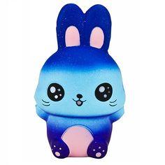 Jumbo Galaxy Easter Bunny Squishy!