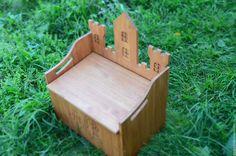 """Купить Ящик для игрушек """"Замок"""" - бежевый, ящик для игрушек, детская комната…"""