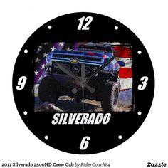 2011 Silverado 2500HD Crew Cab Large Clock