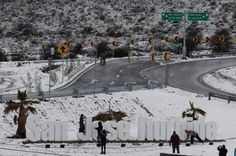 Algunas regiones de Guanajuato también se cubrieron de blanco.   17 Hermosas imágenes de las nevadas en México que te dejarán frío