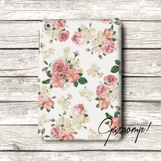 Cute Flower Pattern iPad Air Case iPad Case iPad 2 by Gazooomp