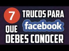 7 trucos para Facebook que debes conocer! - (More Info on: http://LIFEWAYSVILLAGE.COM/videos/7-trucos-para-facebook-que-debes-conocer/)