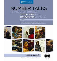 Classroom number talk - mental maths tasks.  One of my favorite resources!