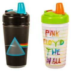 Daphyl Pack of Pink Floyd Dark Side of The Moon and The Wall Sippy Cups Pink Floyd Dark Side, Sippy Cups, The Dark Side, Everything Baby, Baby Time, Baby Hacks, Cute Baby Clothes, Future Baby, Future House