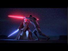 ★ Obi-Wan VS Darth Maul & Maul's Death FULL BATTLE - Star Wars Rebels S3...