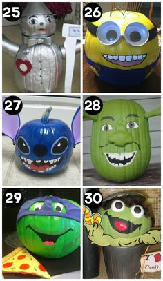 Pumpkin-Decorating-with-Book-and-Movie-Characters.jpg 550×950 pixels