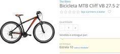 Bicicleta MTB Cliff VB 27.5 21 Marchas Aro 19 Tito Bikes << R$ 76490 em 10 vezes >>