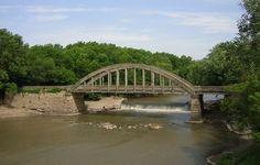 Cottonwood River Bridge - Emporia