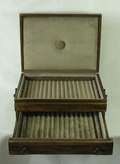 Fountain Pen Storage Chest No 260 Vintage and Unique for Collectors and Display | eBay