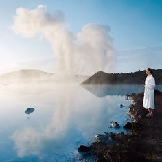 Soak up the beauty and relax at Blue Lagoon #Iceland #BlueLagoon #travel