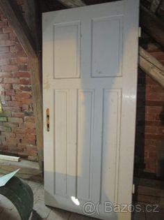 Staré kazetové dveře - 1