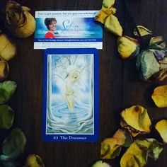 Today's #Intuitive #Oracle card reading is The Dreamer, 23 in the shapeshifters tarot but not a traditional tarot card