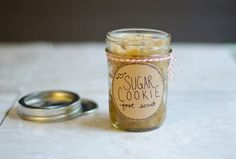 DIY Sugar Cookie Foot Scrub
