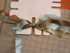 Dream in Color...: Seam Binding Ribbon Tutorial and JustRite