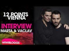 Interview: Marta Jandová and Václav Noid Bárta (Czech Republic 2015) | wiwibloggs - YouTube Eurovision 2015