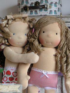 Waldorf inspired dolls made by Lalinda.pl