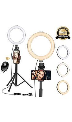 #VIEWOW Ring Light With #Tripod Stand – Perfect #iPhone Tripod for #Instagram