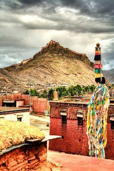 Gyantse fortress - Tibet