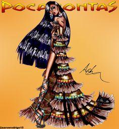 Pocahontas's Collection - Look 1 by Aaron Rodrigo / IG: @aaronrodrigo_