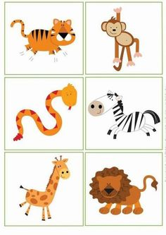 Busy Little Bugs Jungle Animals Shadow Match bugsbusylittle b ig . Science Activities For Kids, Montessori Activities, Book Activities, Preschool Activities, Jungle Animals Pictures, Animals For Kids, Farm Animals Preschool, Flashcards For Kids, Easy Coloring Pages
