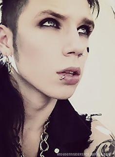 Never once thought I would ever be attracted to a guy with eyeliner on...