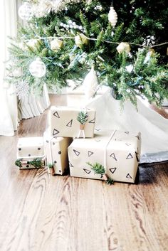 DIY Gift Wrap - Cute