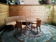 Contemporary Patio by M.U.D. Landscaping