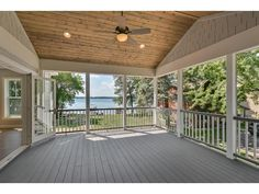 Photo of home for sale at xxxx Ingram Street, Greenfield MN 4 Season Room, Mls Listings, Keller Williams Realty, Property For Sale, Deck, Real Estate, Porch Ideas, Street, Outdoor Decor